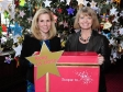 Comedian and 'Bridget Jones' star Sally Phillips with Harriett Baldwin, MP supporting the Scope campaign for better support