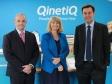 Harriett Baldwin meets new QinetiQ CEO Steve Wadey
