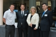 Stormcharge's Dan Davies, Markus Kantonen, Harriett Baldwin MP and  Alex Newman