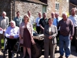Tenbury farmers gather with Harriett Baldwin MP  and Anthea McIntyre MEP for local NFU meeting.