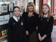 Harriett visits Tenbury High Ormiston Academy and meets school newspaper reporters Eve Lambrick and Izzie Kite.