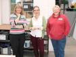 Harriett Baldwin MP tours The Bridge classrooms with head teacher Sue Hornby and trustee Angela Farmer