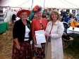 Harriett visits WI Marquee at Three Counties Show