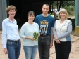 Unity Brew House: Ali Capper, Sarah and Hani Saleh and Harriett Baldwin MP