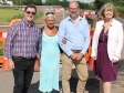 Roads investment in Upton: Councillors Mike Morgan, Andrea Morgan, Jeremy Owenson and Harriett Baldwin MP