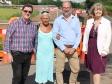 Roads investment in Upton: Councillors Mike Morgan, Andrea Morgan, Jeremy Owenson and Harriett Baldwin MP