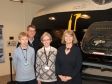 Harriett Baldwin MP with RAF Defford museum volunteers (l-r) Ann Sterry, John Sterry and Pauline Gardiner