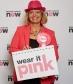 Harriett Baldwin goes pink to raise awareness for Wear It Pink on October 21