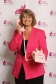 Harriett Baldwin, MP for West Worcestershire, wears pink to support national breast cancer research campaign.