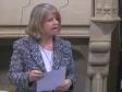 Harriett Baldwin MP speaking in Westminster Hall, Jan 2020, Cotswold Line