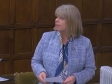 Harriett Baldwin speaking in Westminster Hall in a debate on TB, March 2019