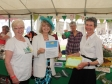 Celebrating 100th anniversary of Worcestershire WI with Christine Hickman-Smith, Sheila Andrews and Sheena Murray