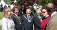 Harriett welcomes HRH Princess Royal to RHS Malvern Show