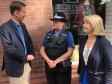 Harriett Baldwin welcomes Foreign Secretary Jeremy Hunt to Tenbury
