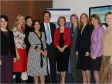 David Cameron celebrates the first anniversary of Women2Win with Harriett Baldwin and other parliamentary candidates